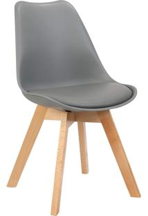 Cadeira Leda Cinza Rivatti Móveis