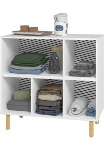 Closet Com 5 Nichos Blc 325 - Brv Móveis Elare