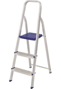 Escada De Alumínio Mor, 3 Degraus - 5101