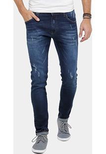 Calça Jeans Colcci Felipe Puídos Masculina - Masculino