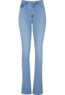 Calca Jeans Sknny Boocut Clara (Jeans Claro, 40)