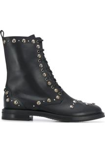 Casadei Ankle Boot Lena - Preto