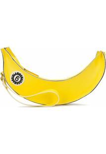 Mm6 Maison Margiela Clutch Com Estampa De Banana - Amarelo