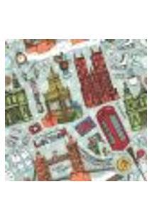 Papel De Parede Adesivo - Londres - 061Ppd