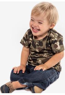 Camiseta Niños Camo 500072