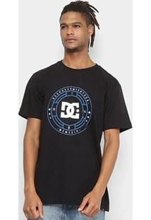 Camiseta Dc Shoes Bas Rulett Masculina - Masculino