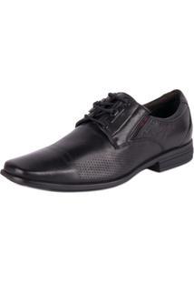 Sapato Ferracini Social Soft - Masculino-Preto