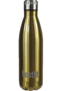 Garrafa Best Fit Térmica 750Ml Dourada