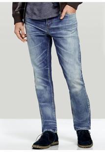 Calça Jeans Masculina Hering Com Lavação Special Denim