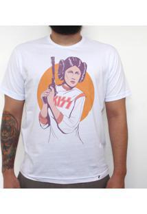Leia Lovegun - Camiseta Clássica Masculina