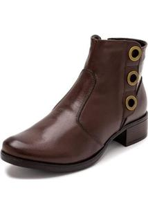Bota Sandalo Clave De Fa Sitar Feminina - Feminino
