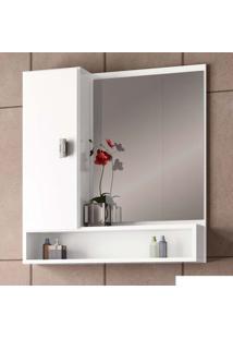 Espelheira Orquídea 57Cm Branca Cozimax
