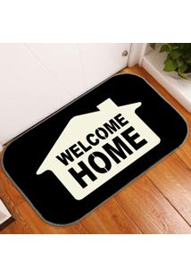 Tapete Decorativo Welcome Home Único