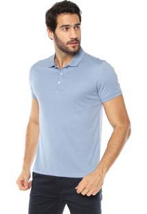 Camisa Pólo Calvin Klein Slim masculina  b47a50575c4bd