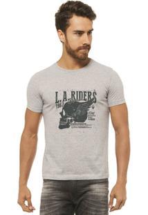 Camiseta Joss - La Riders -Masculina - Masculino-Mescla