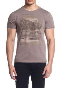 Camiseta Mormaii Pacific Coast Marrom