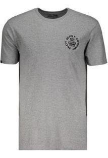 Camiseta Rusty Triplex Silk - Masculino-Cinza