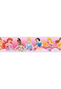 Adesivo De Parede Dream From The Heart Disney Princesas Sd Roommates Rosa