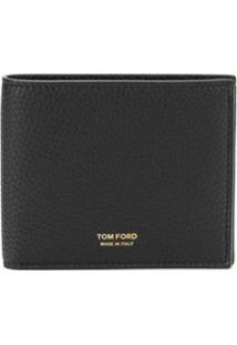 Tom Ford Carteira Com Logo - Preto