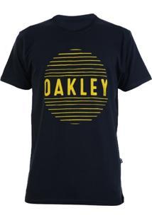 Camiseta Oakley Croocked Lines Masculina - Masculino