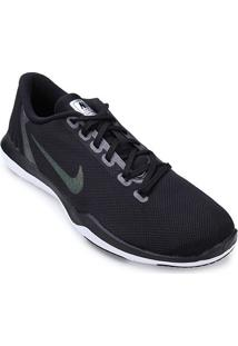 Tênis Nike Flex Supreme Tr 5 Mtlc Feminino - Feminino-Preto+Cinza