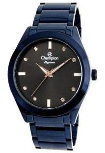 Relógio Feminino Champion Analógico Elegance - Cn25930A - Feminino-Azul