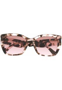 Valentino Eyewear Óculos De Sol Gatinho - Rosa