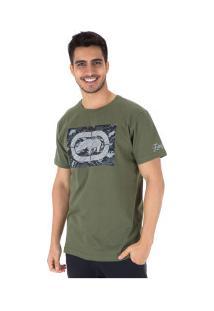 Camiseta Ecko Estampada E507A - Masculina - Verde Escuro
