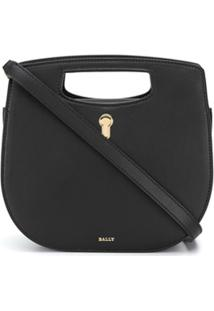 Bally Caya Top Handle Bag - Preto