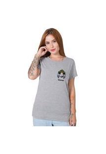 Camiseta Spacecraft Cinza Stoned