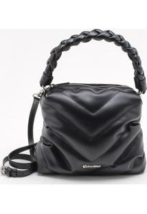 Bolsa Shoulder Bag Matelassê Preta
