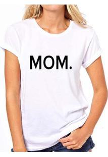 Camiseta Coolest Iza Mom Feminina - Feminino-Branco