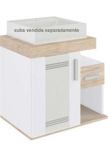 Gabinete Brenda Ii 60X40X55Cm Sem Cuba Mezzo Blanco Darabas