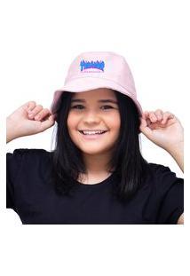 Chapéu Bucket Hat Personalizado Thrasher Lançamento - Rosa