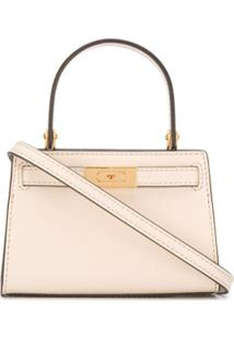 Tory Burch Bolsa Tote Mini - Neutro
