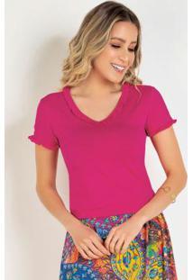 Blusa Pink Moda Evangélica