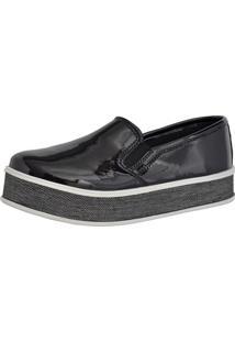 Tênis Slip On Ousy Shoes Sapatênis Verniz