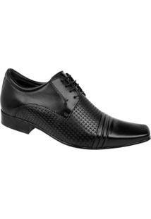 Sapato Social Couro Constantino - Masculino-Preto