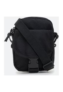 Bolsa Shoulder Bag Utilitária Com Fivelas | Viko | Preto | U