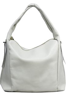 Bolsa Sn Couros Caribe Off-White