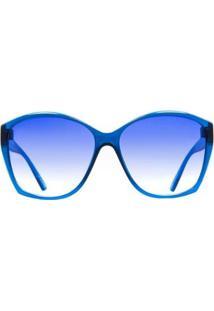 Óculos De Sol Evoke Lady Diamond T01/59 Feminino - Feminino-Azul