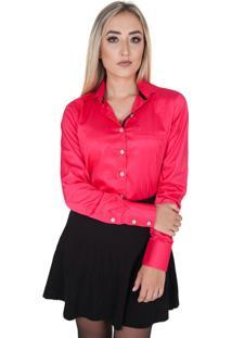 Camisa Lupim Rosa Brilhante