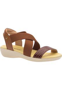 Sandã¡Lia Anabela Doctor Shoes 112 Marrom - Caramelo - Feminino - Dafiti