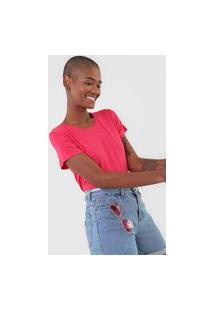 Camiseta Rovitex Flamê Rosa