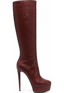 Le Silla Bota Miranda Com Plataforma - Vermelho