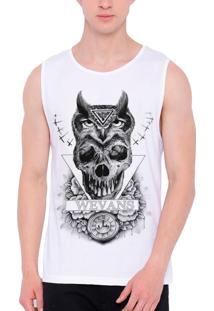 Regata Wevans Tattoo Owl Skull