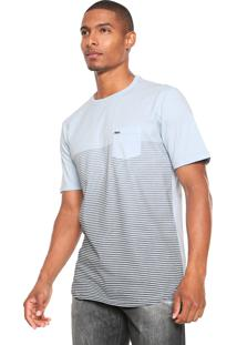 Camiseta Wg Stripe Points Azul