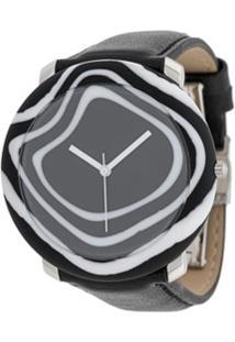 Yunik Relógio Zebra 44Mm Grande - Preto