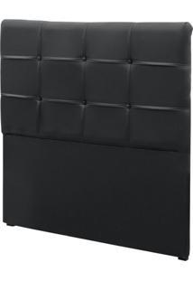 Cabeceira Solteiro Colchã£O Box 88Cm Corino Clean - Simbal
