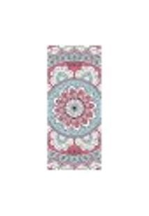 Adesivo Decorativo De Porta - Mandala - 2043Cnpt